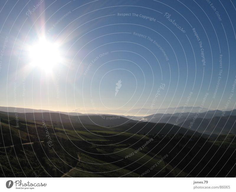 Endlich oben! Sonnenaufgang Aussicht schön Morgen Himmelskörper & Weltall Berge u. Gebirge Morgendämmerung sonnennähe
