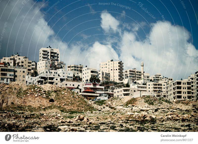 Ost Jerusalem Ost-Jerusalem Israel Palästina Naher und Mittlerer Osten Stadt Stadtrand Haus Glaube Religion & Glaube Wandel & Veränderung Häusliches Leben