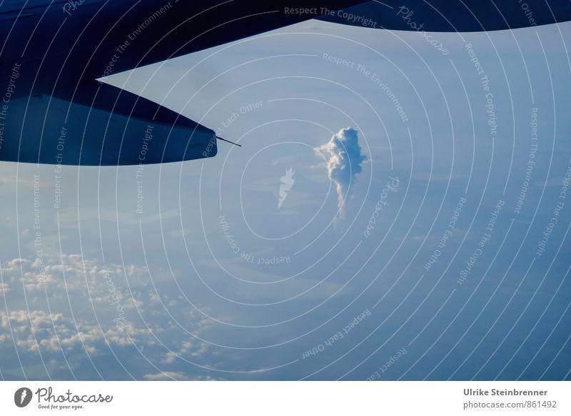 > 0 Wasser Sommer Landschaft Wolken Umwelt Wärme Energiewirtschaft Luft modern Luftverkehr Technik & Technologie bedrohlich Flugzeug Industrie Tragfläche