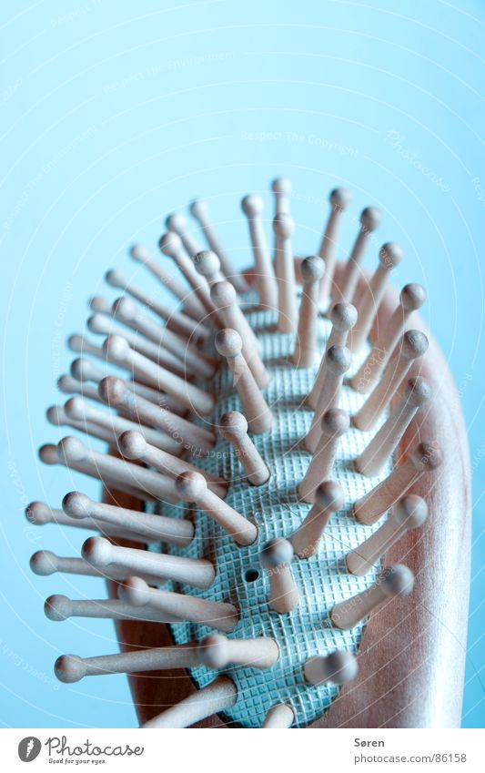 Emobürste 2 schön Erholung Wärme Wellness Physik Wohlgefühl Massage Bürste Kamm Noppe Haarpflege