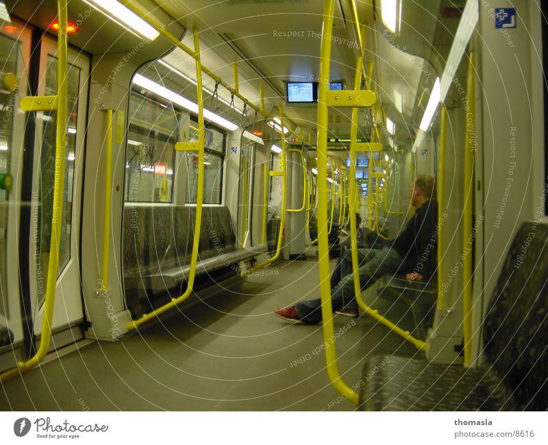 U-Bahn gelb Club