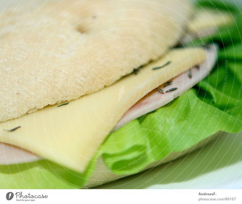 Flaguette III Kümmel Brot Brötchen Baguette Belegtes Brot Frühstück frisch Brotbelag Salatblatt Schinken Wurstbrot Mahlzeit Weißbrot Bagel Mittagessen flaguette