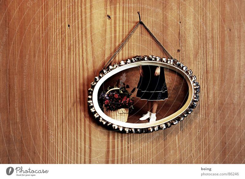 Die guten Jahre der Anderen 10 Blume Korb Holzvertäfelung Bilderrahmen Fotografie Mädchen Kleid Rock Kind Vertrauen geschenkkorb Blumenkorb fesches röckchen