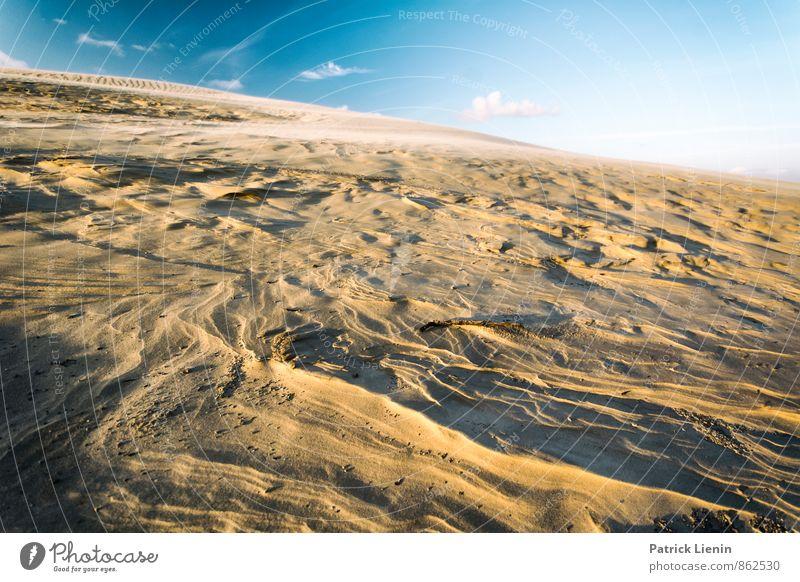 Day in the Dunes IV Himmel Natur Ferien & Urlaub & Reisen Erholung Landschaft ruhig Wolken Ferne Umwelt Wärme Freiheit Sand Erde Zufriedenheit Ausflug