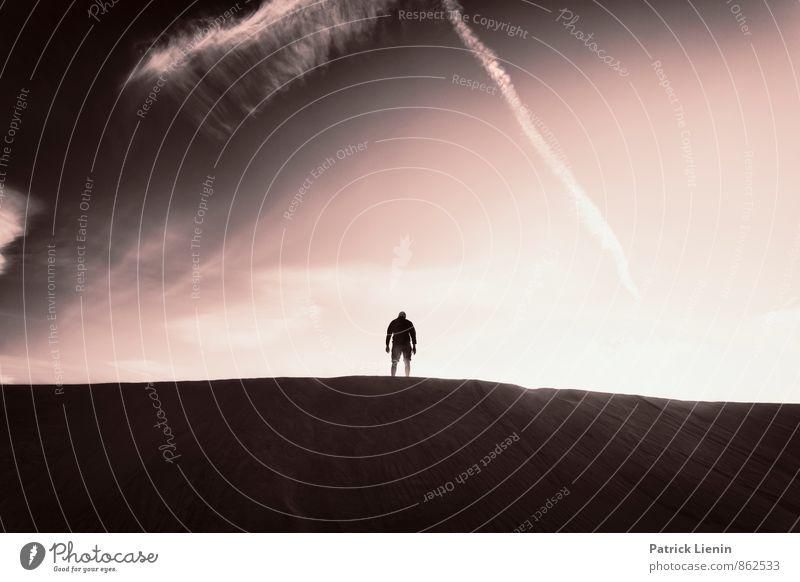 Men and Nature Leben harmonisch Wohlgefühl Zufriedenheit Sinnesorgane Erholung ruhig Meditation Ausflug Abenteuer Ferne Freiheit Sightseeing Expedition Sommer