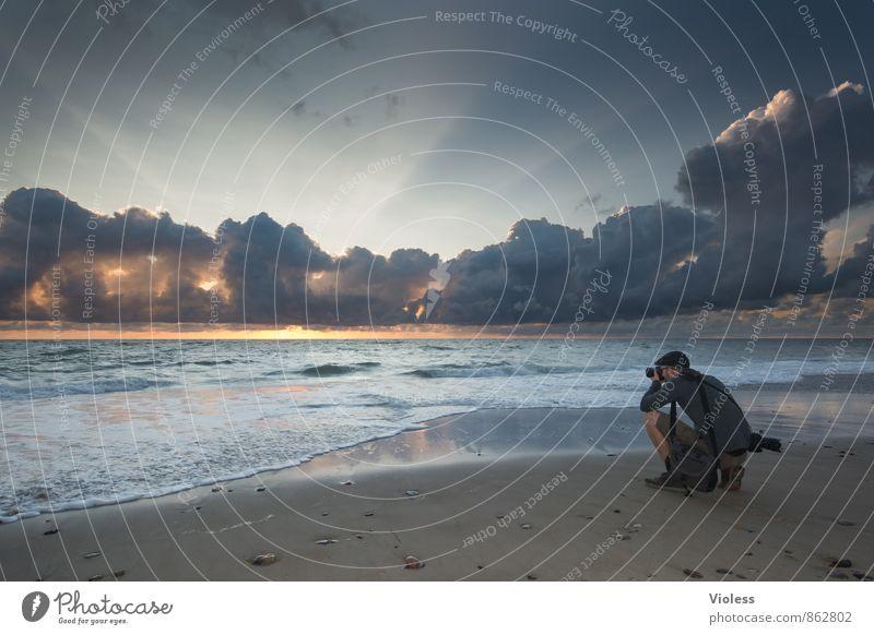 making of II ..... Freizeit & Hobby Abenteuer Ferne Freiheit Sommer Strand Meer Wellen Natur Landschaft Himmel Wolken Sonnenaufgang Sonnenuntergang Küste