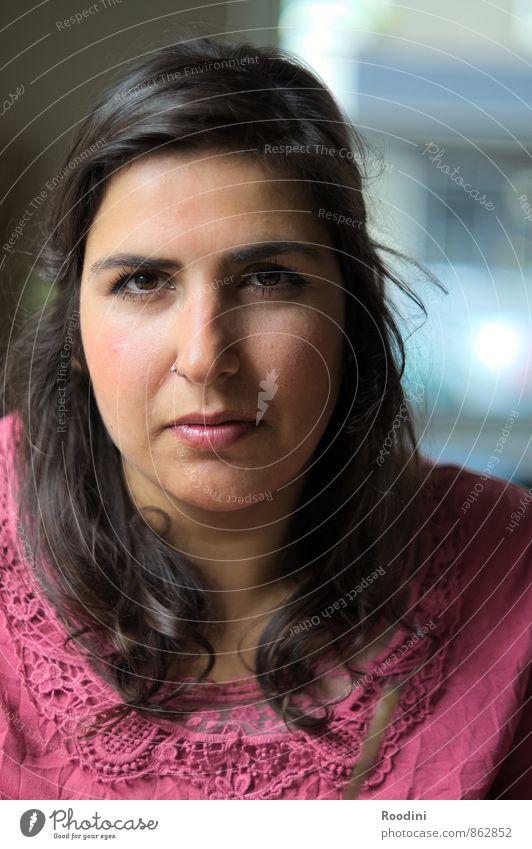 Jetzt mal Tacheles Mensch Jugendliche schön Junge Frau 18-30 Jahre Gesicht Erwachsene Auge sprechen feminin Denken Kopf Ernährung Mund Studium beobachten