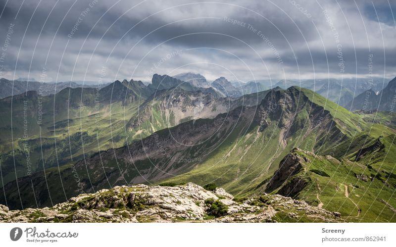 This is your land... Ferien & Urlaub & Reisen Tourismus Ausflug Ferne Freiheit Sommer Berge u. Gebirge wandern Natur Landschaft Himmel Wolken Schönes Wetter