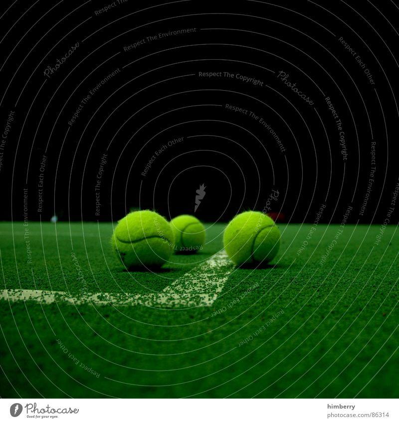 matchballs IV Sport Spielen Platz Ball Freizeit & Hobby Tennis Ballsport Sportplatz Tennisplatz