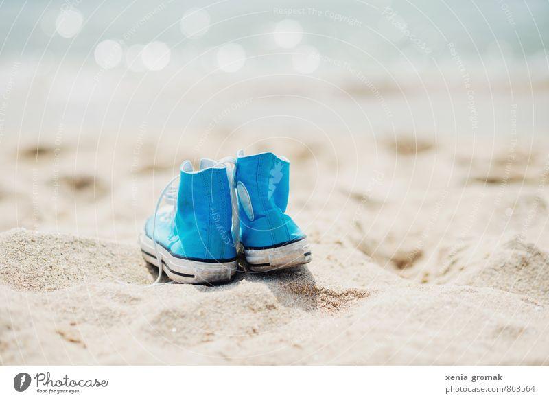 Urlaub Ferien & Urlaub & Reisen blau Wasser Sommer Sonne Meer Strand Ferne Leben Spielen Schwimmen & Baden Glück Freiheit Freizeit & Hobby Lifestyle Idylle