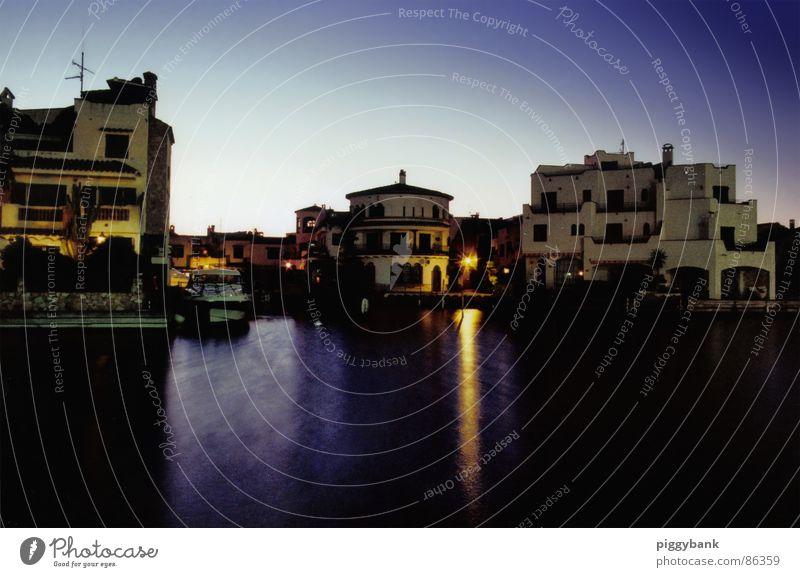 Abend in Ampuriabrava Europa Romantik Spanien mystisch Lichtspiel mediterran Abendsonne Empuriabrava Costa Brava