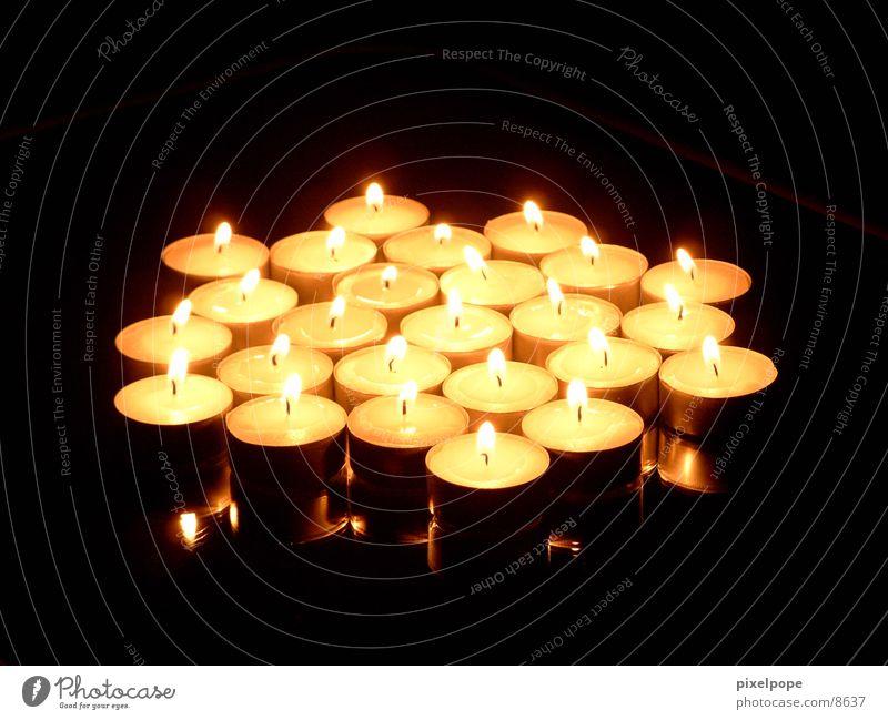Candles Kerze Teelicht Dinge