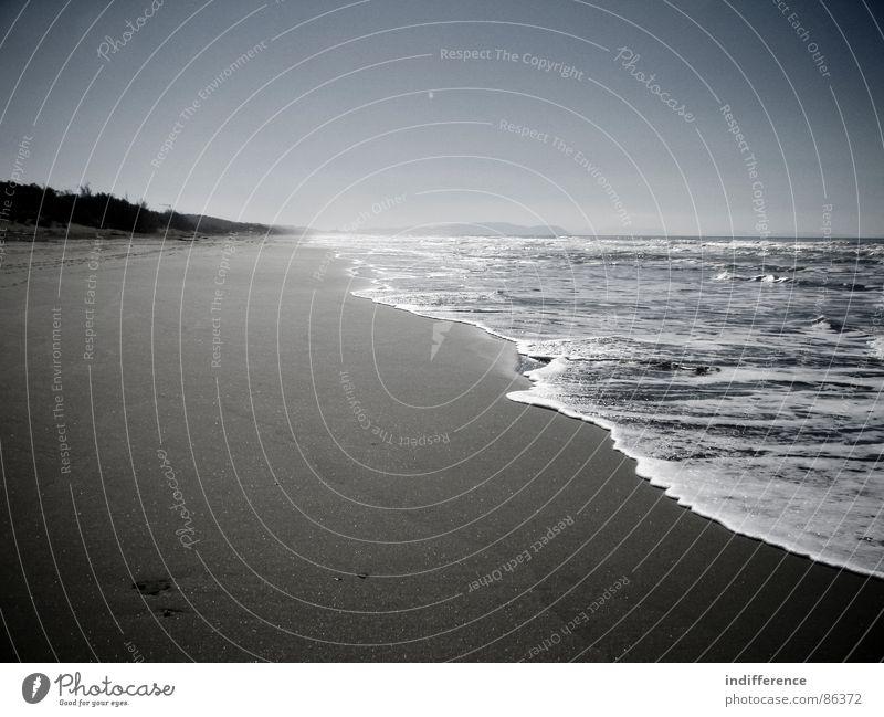 for a better tomorrow Wasser Himmel Meer Strand Sand Italien
