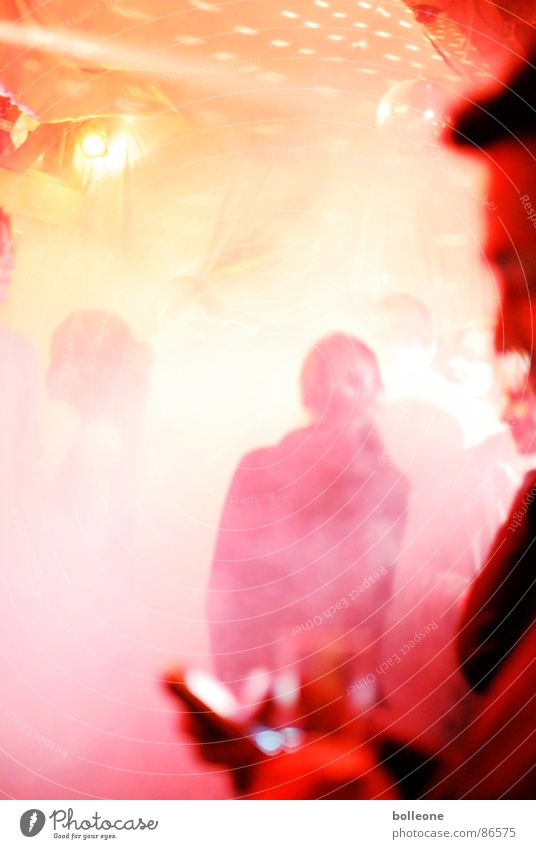 Party Mensch Feste & Feiern Nebel Disco Club Discokugel Gastronomie