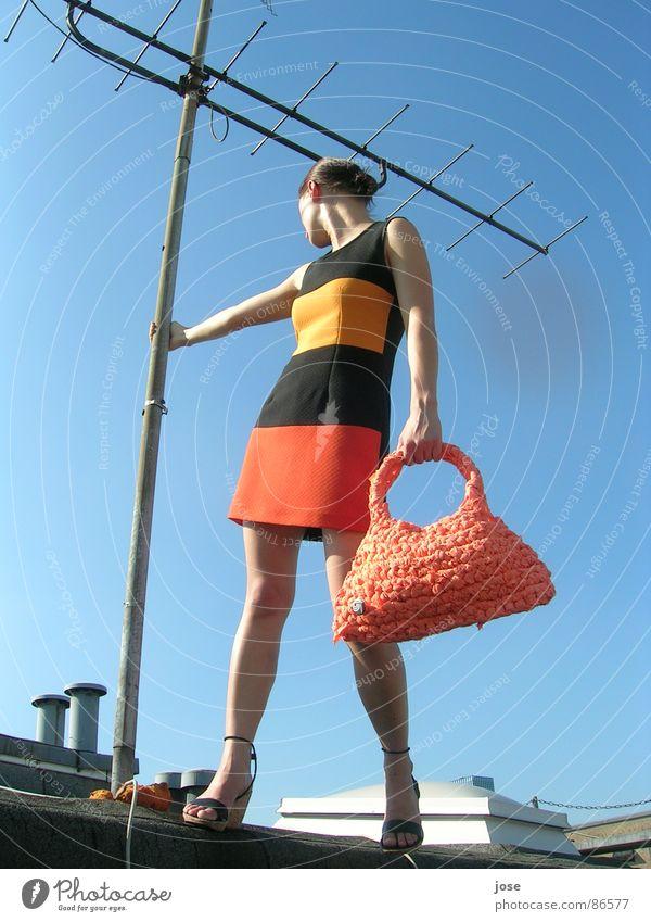 Bagarella Bekleidung Dach Tasche Düsseldorf Antenne gestreift Nordrhein-Westfalen