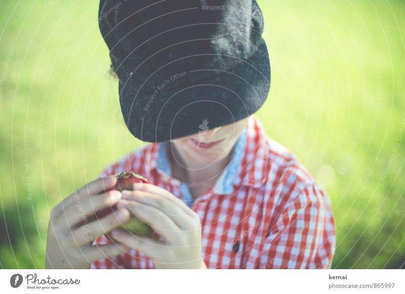 kost.bar | Aber sauer Mensch Kind Natur Hand Leben Wiese Gras Junge Essen Kopf Lebensmittel Freizeit & Hobby maskulin Kindheit niedlich Finger
