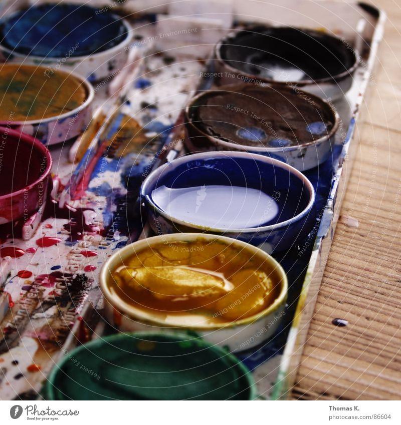 Suspicious Feeling of Peace Farbe Gefühle Holz Stil Kunst Linie Seil Tisch Kreativität Gemälde zeichnen Gesichtsausdruck Erdöl Pinsel Seele Gefäße