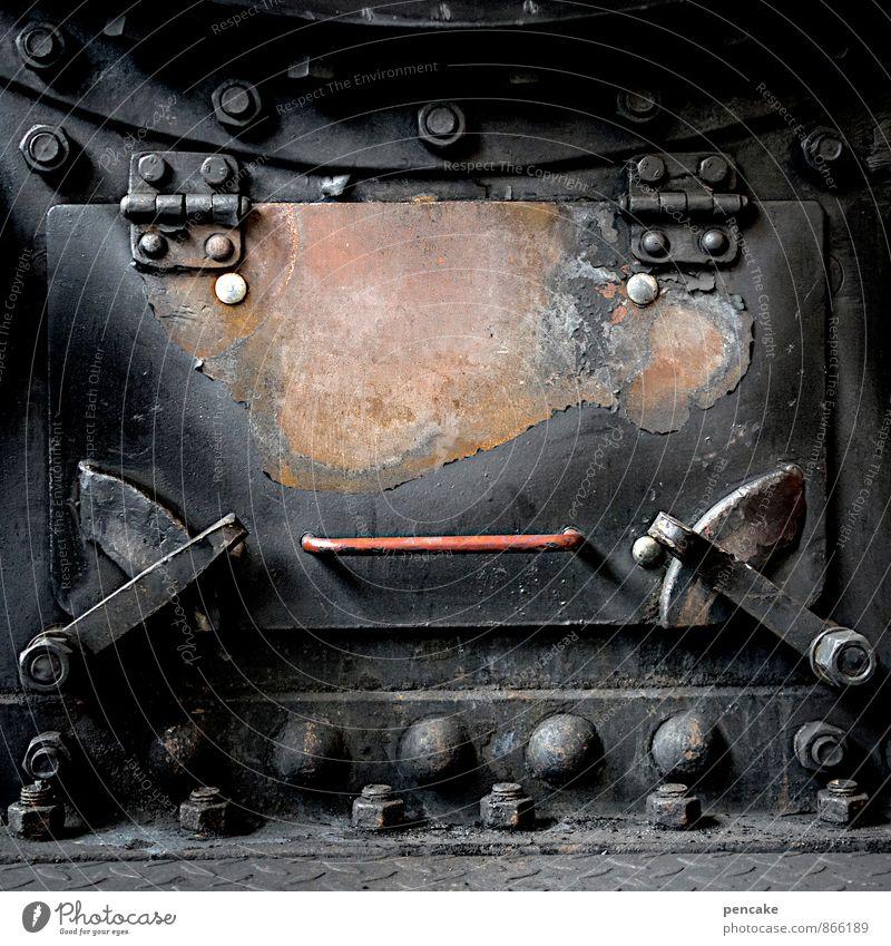 emma Ferien & Urlaub & Reisen schwarz Gesicht Wärme Senior feminin Freiheit außergewöhnlich Metall träumen dreckig Verkehr authentisch Insel Eisenbahn