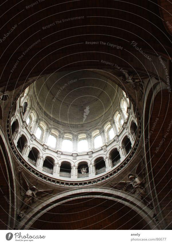 Götterdämmerung Traurigkeit Denken Religion & Glaube Engel Tourismus Paris Gott himmlisch Kathedrale erhaben Kuppeldach Gotteshäuser Frankreich Stuck