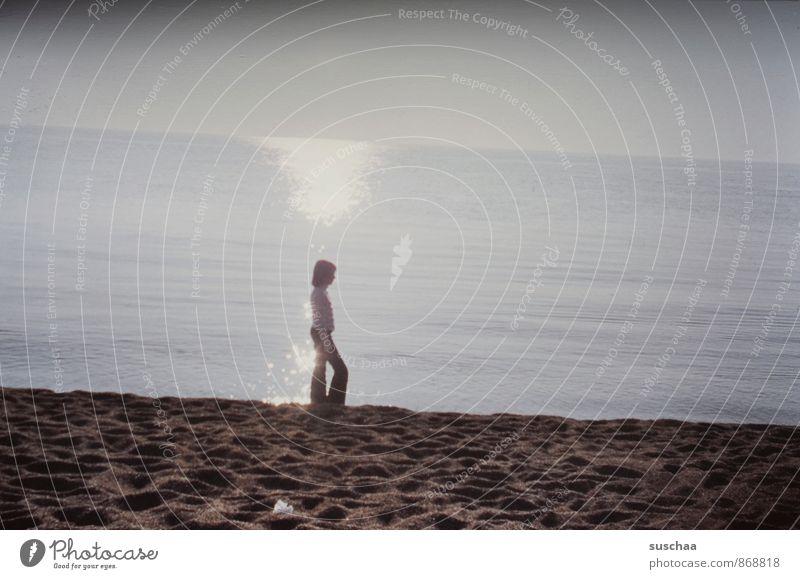 mein letzter urlaub Kind Mädchen Junge Frau Jugendliche Kindheit 8-13 Jahre Umwelt Natur Landschaft Luft Wasser Himmel Sommer Herbst Klima Schönes Wetter Küste