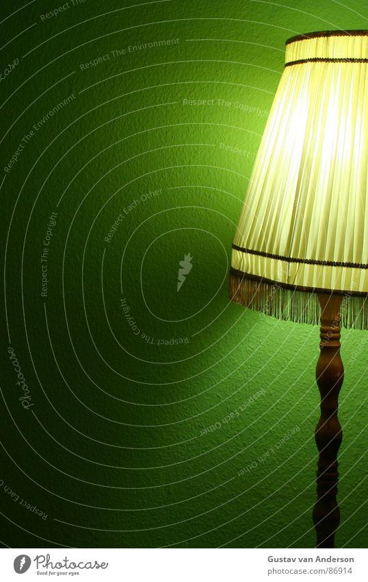 mit stock und schirm 3 grün gelb Farbe Metall Wohnung Regenschirm Stoff Tapete Möbel Draht Glühbirne Scheinwerfer Kapuze grell Flutlicht