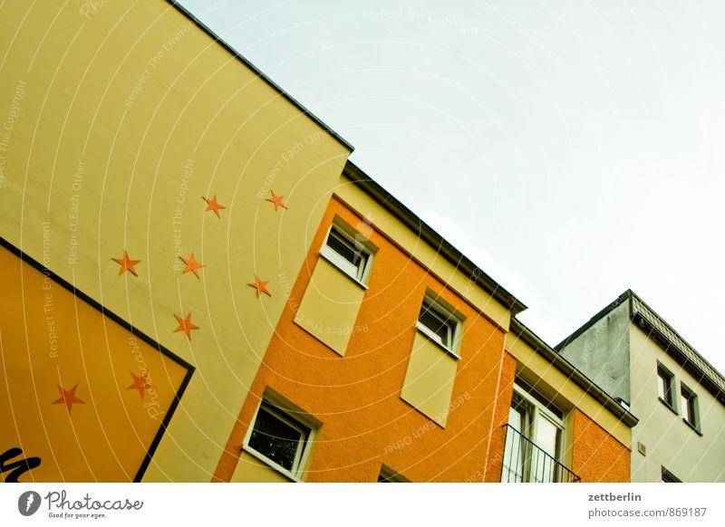 Acht-Sterne-Hotel Berlin Stadt Gebäude Haus Stadtzentrum Stadtleben Fassade Froschperspektive Menschenleer Stern (Symbol) Dekoration & Verzierung Schmuck