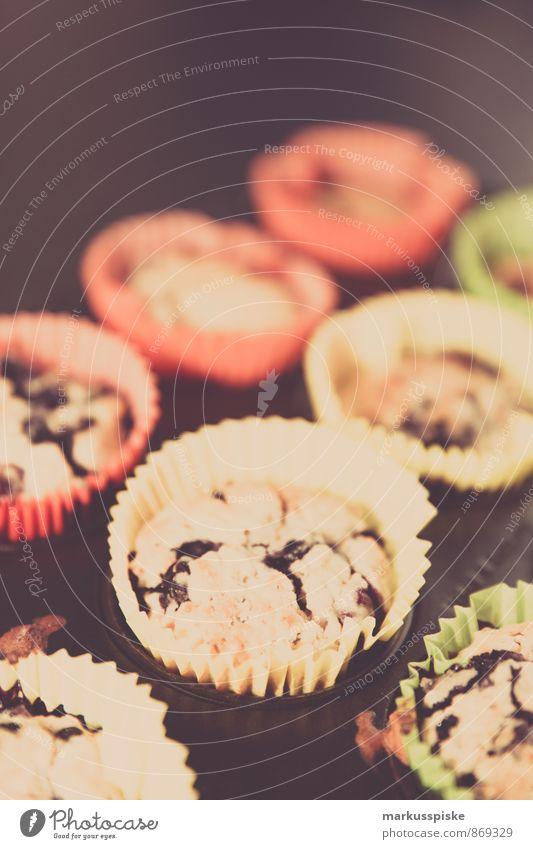 Heidelbeer Muffin Lebensmittel Frucht Getreide Teigwaren Backwaren Dessert Süßwaren Blaubeeren Ernährung Essen Frühstück Mittagessen Kaffeetrinken Büffet Brunch