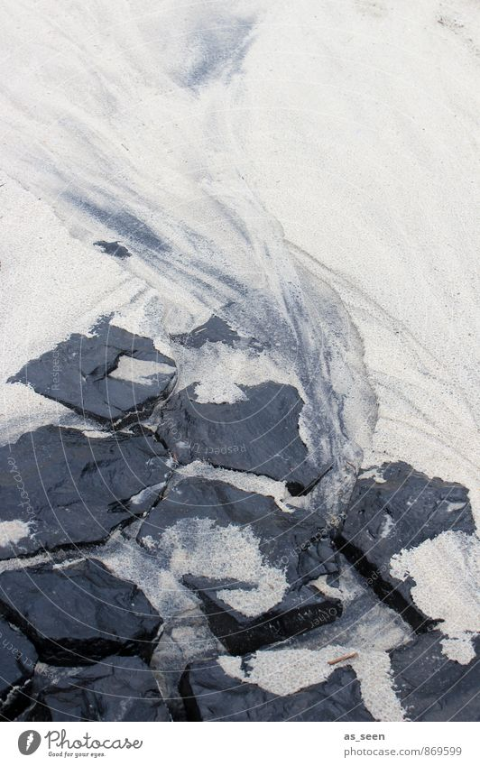 Auswaschung Natur weiß Wasser Meer Strand schwarz dunkel Umwelt Bewegung Küste Stein außergewöhnlich Sand Wetter Regen Erde