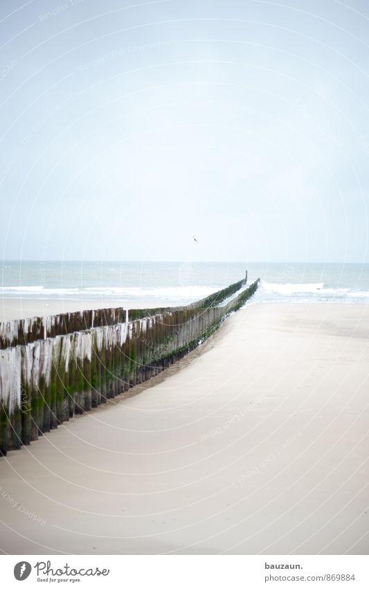 mist verflogen. Gesundheit Wellness Ferien & Urlaub & Reisen Tourismus Sommer Sommerurlaub Strand Meer Natur Wasser Himmel Wolken Klima Wetter Küste Nordsee