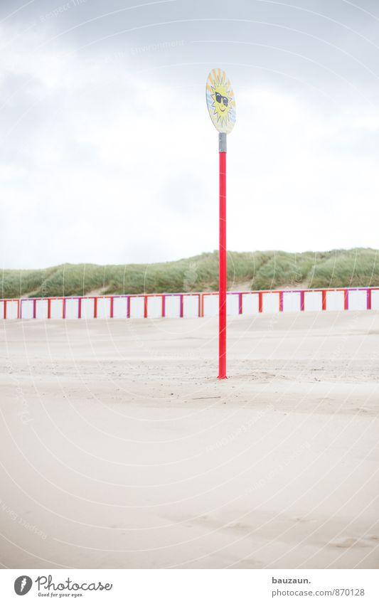 sonnengarantie. Himmel Natur Ferien & Urlaub & Reisen Sommer Sonne Erholung Wolken Strand Küste lachen Sand Freizeit & Hobby Wetter Zufriedenheit