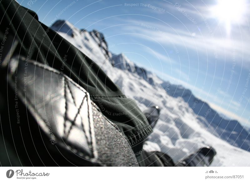 .:: bergPANORAMA?! ::. Sonne Winter Erholung Schnee Berge u. Gebirge groß