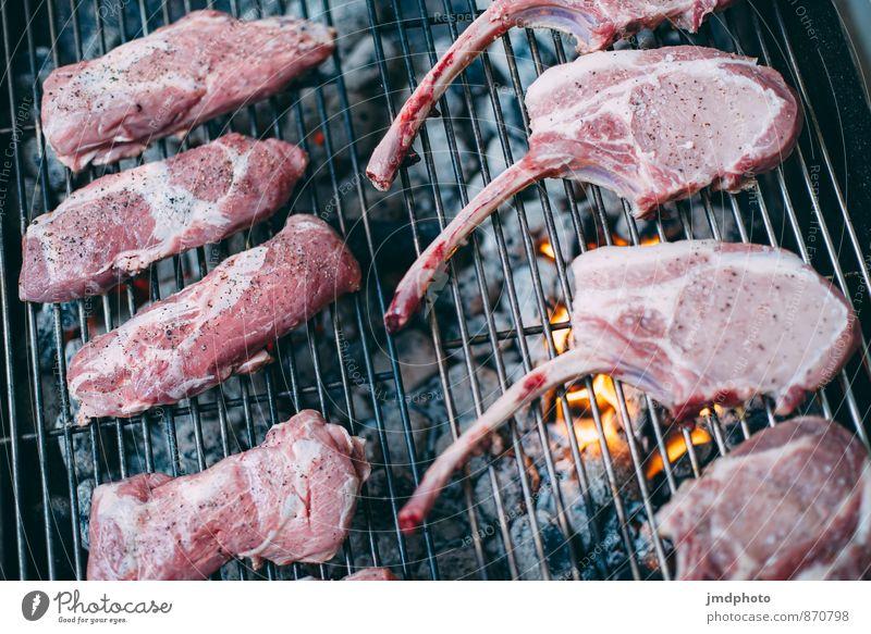 GRILL vorher Lebensmittel Fleisch Abendessen Bioprodukte Slowfood Freude Gesunde Ernährung Übergewicht Camping Garten Essen Koch Küche Gastronomie heiß lecker