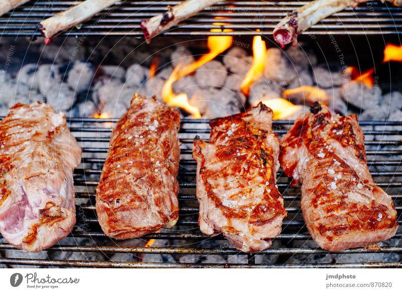 Die Grillsaison ist eröffnet Lebensmittel Fleisch Ernährung Mittagessen Abendessen Picknick Bioprodukte Slowfood Grillen Lifestyle Gesundheit Übergewicht