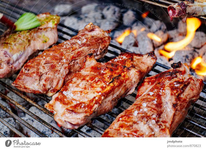 GRILL nachher Lebensmittel Fleisch Abendessen Bioprodukte Slowfood Lifestyle Freude Gesundheit Gesunde Ernährung Camping Garten Essen Feste & Feiern Koch Küche