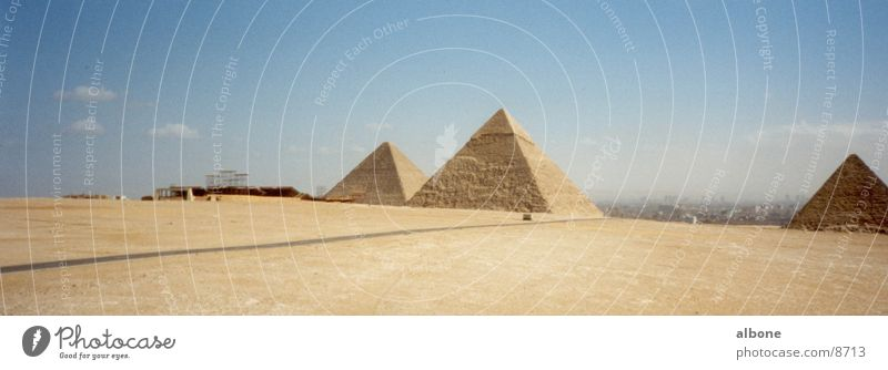 Pyramiden Ägypten Kairo Sandstein Architektur