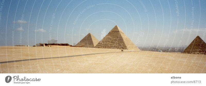 Pyramiden Architektur Ägypten Sandstein Kairo