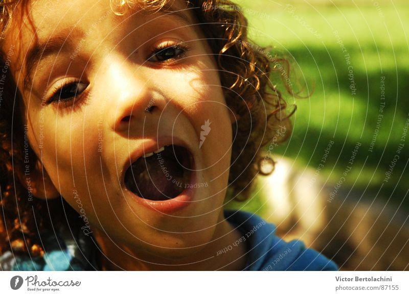 My Boy... Kind Mensch Kleinkind Jugendliche boy children Junge feliz spontan Mund face Gesicht
