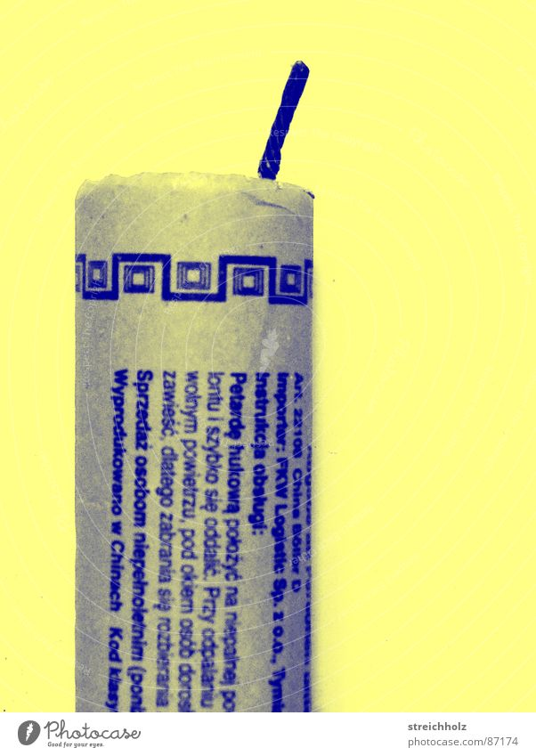 China-Böller Silvester u. Neujahr Wut Gewalt Feuerwerk Konflikt & Streit obskur Ärger Aggression laut Schlag Explosion Krach Angriff Knall sprengen