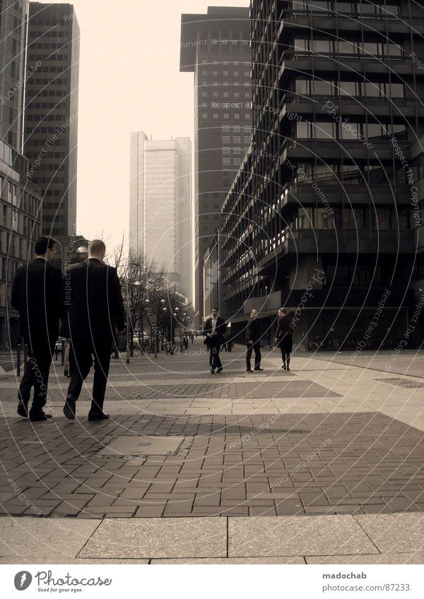BUSINESS-DISTRICT Haus Hochhaus Gebäude Material Fenster live Kapitalwirtschaft finanziell ankern Kredit Block Beton Etage Apokalypse brilliant Endzeitstimmung
