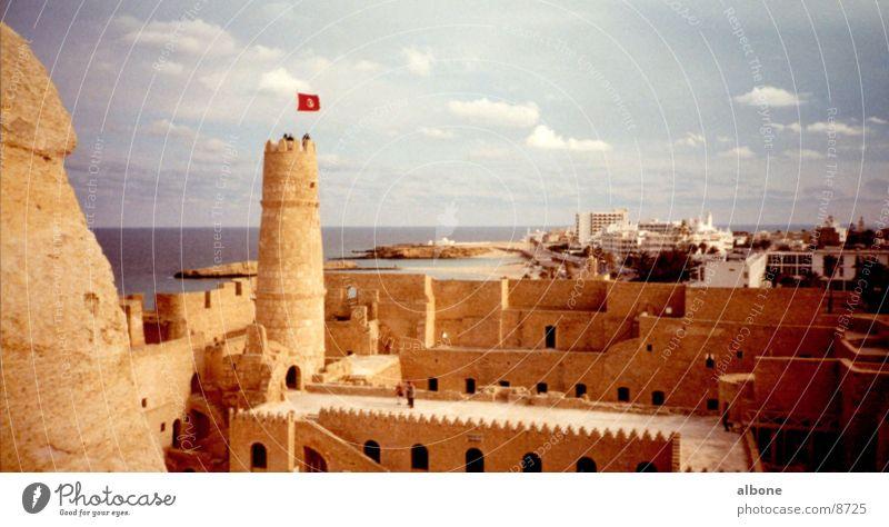 Festung Sandstein Ägypten Architektur Burg oder Schloss