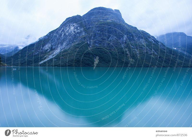 Auf dem Weg nach Norwegen Natur Ferien & Urlaub & Reisen grün Wasser Baum Landschaft Wolken Ferne Wald Berge u. Gebirge Küste Schnee Freiheit Horizont Felsen