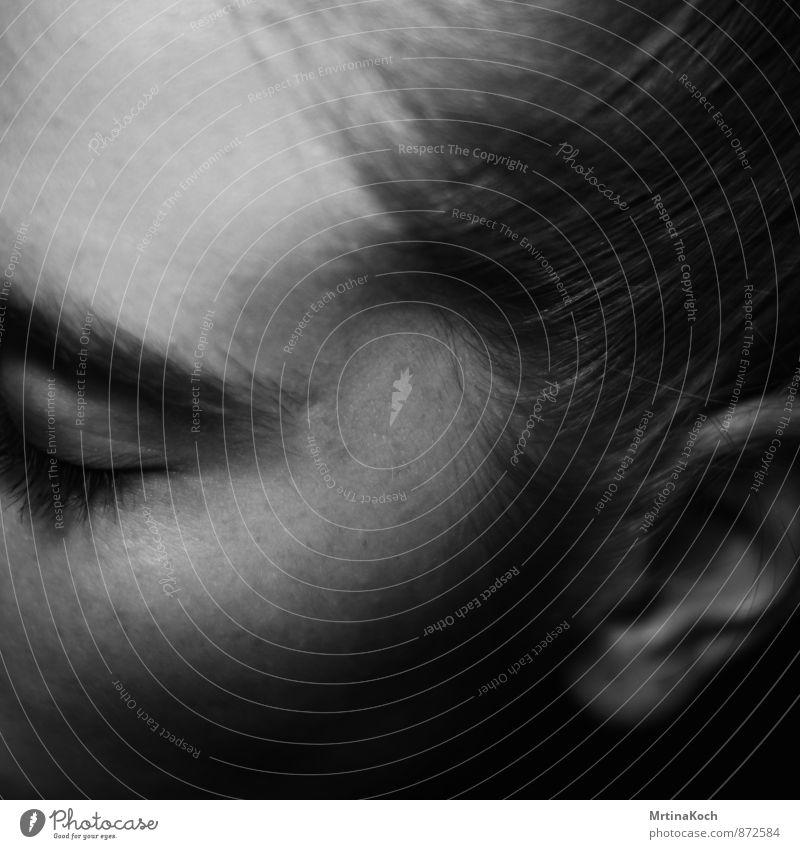 me again. Mensch Frau Jugendliche Einsamkeit Junge Frau ruhig 18-30 Jahre Erwachsene Gesicht Traurigkeit Gefühle feminin Haare & Frisuren Stimmung Kopf Trauer