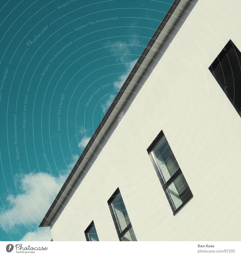 Fakt: Keine runde Sache Himmel Stil Fenster modern Fabrik Geometrie