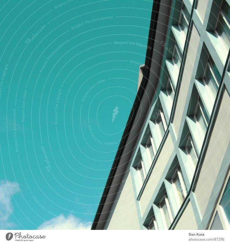 Der Steil ist so geil Wolken Freundlichkeit Fenster aufstrebend modern Himmel Beleuchtung Schönes Wetter hochgewachsen Architektur