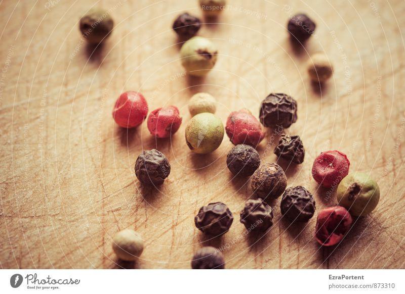 Pfeffer Natur grün weiß rot schwarz Umwelt Holz Gesundheit Lebensmittel Frucht Ernährung Scharfer Geschmack Kochen & Garen & Backen viele Kräuter & Gewürze Korn