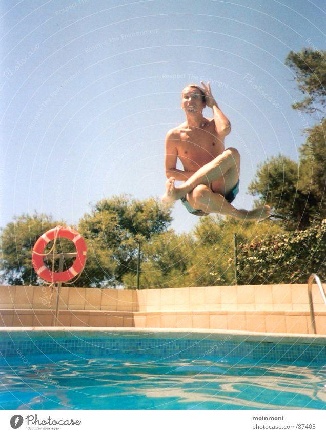 A... Bombe Sonne Sommer Freude Spielen Schwimmen & Baden Schwimmbad Spanien Rettungsring