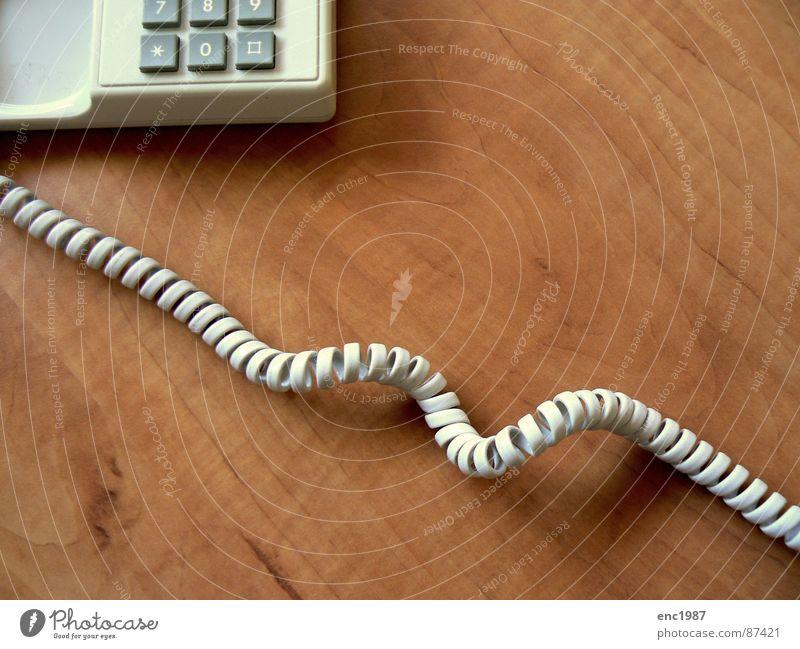 Telephonica 02 Telefon Holzmehl verbinden Telefongespräch Telefonhörer Verwaltung Telefonbuch anzapfen Apparatur white old lautzeichen Telefontelegramm