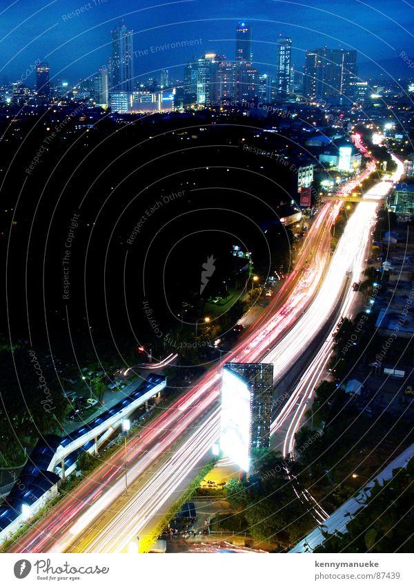 Commutting Stadt Autobahn Verkehrswege