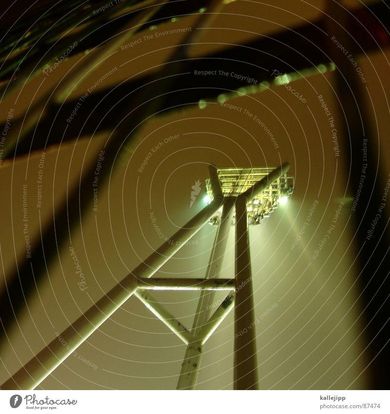 200! spot on! Nieselregen Sportstätten Fußballstadion Fußballvereine Halogenlicht Pflanze Fußballer Stadion Flutlicht Fan Pappeln Nacht Botanik Trainer