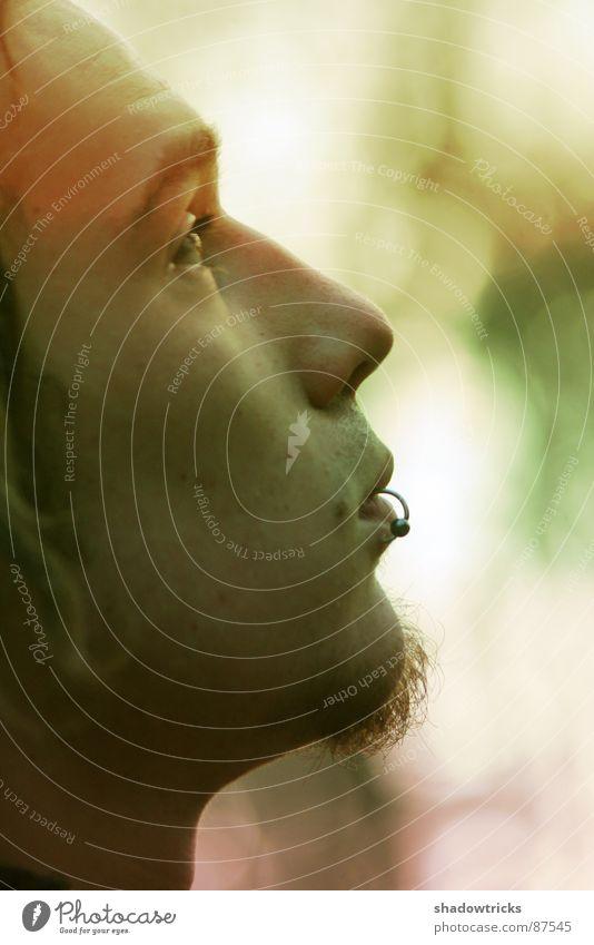 titellos... Mensch Natur Jugendliche Auge Haare & Frisuren Mund Haut hoch Nase Freundlichkeit nah Falte Bart Tiefenschärfe eng Stirn
